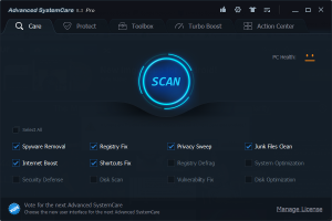 Advanced Systemcare Pro key Full Version Download