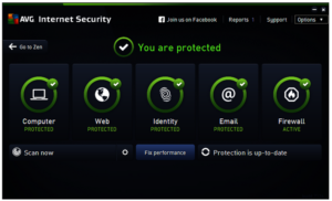 AVG Internet Security 2017 Crack 100% Working Keys