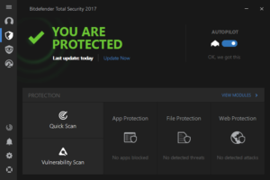 Bitdefender Total Security 2017 License key For {Multi Device}