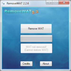 RemoveWAT 2.2.9 Activator For Windows 7, 8, 8.1, 10