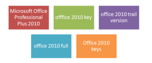 Microsoft Office Professional Plus 2010 Product Key