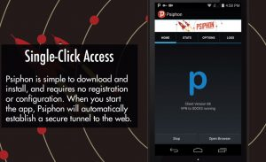 Psiphon for PC Windows 7/8/8.1/10 Free Download