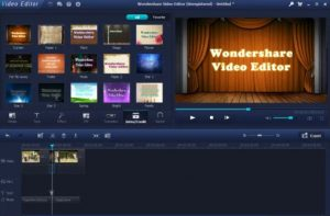 Wondershare Video Editor Crack Full Version + Registration key 2018