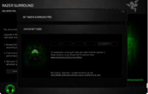 Razer Surround Pro 7.1 Crack Activation Key