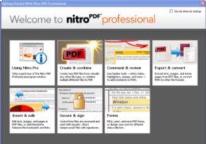 Nitro PDF Professional 12.17.0.584 Crack Free Download