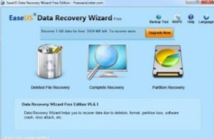 EaseUS Data Recovery Wizard 13 Crack + License Code 2020